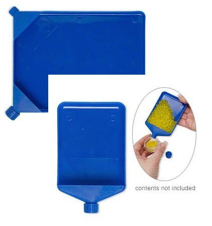Funnel Tray Set For Bead Organization and Sorting