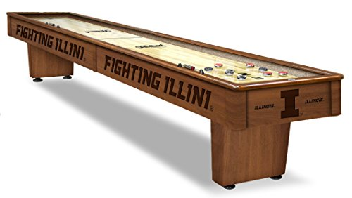 Illinois Fighting Illini Shuffleboard Table