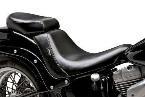 - 06-17 Harley FLSTC: Le Pera Bare Bones Deluxe Pillion Pad (200mm) (Black)