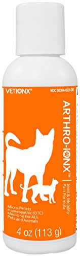 VETiONX ARTHRO-iONX Micro-Pellets - Safe, Natural Joint and Mobility Pain Relief for Pets of All Ages