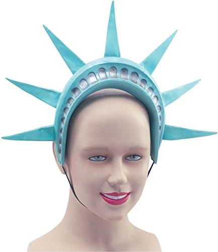 [American Fancy Dress Party Headwear Accessory Statue Of Liberty Headband Crown] (Statue Of Liberty Costume Crown)