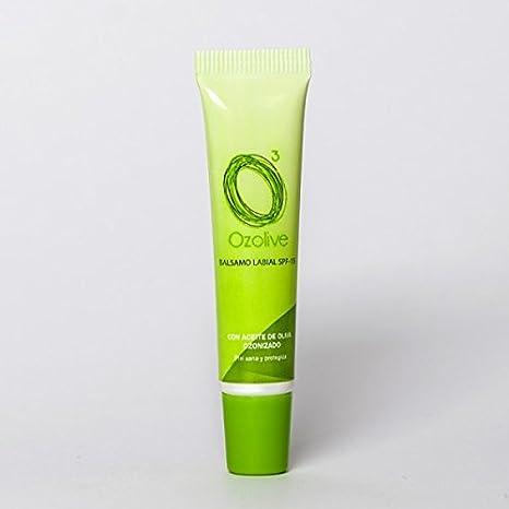Bálsamo Labial con Aceite Ozonizado (Aceite de Oliva Virgen Extra BIO)