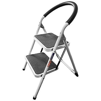Cool Wonder Worker Barrow 2 Step Heavy Duty Steel Step Ladder Folding With Non Slip Large Steps Uwap Interior Chair Design Uwaporg