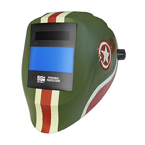 ArcOne X54V-1555 Vision Industrial Grade Welding Helmet with X54V Digital Auto-Darkening Filter, Tank