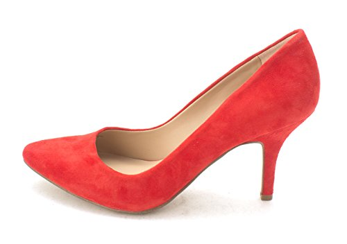 INC International Concepts Womens Zitah Pointed Toe, Spring Red, Size 6.5 from INC International Concepts