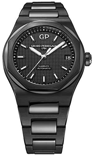 Girard-Perregaux-Laureato-Black-Ceramic-42mm-Mens-Watch-81010-32-631-32A