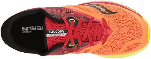 Image of the Saucony Men's Kinvara 9 Running Shoe, Orange/Red, 11 Medium US