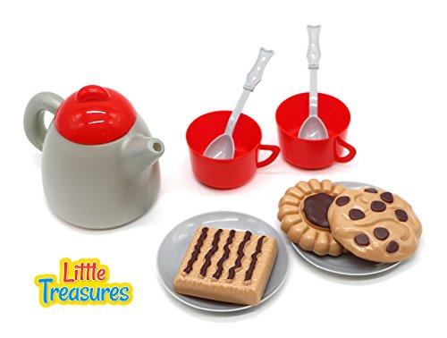Little Treasures Play Snack Desert Toy Set (Doll Plastic Toddler)