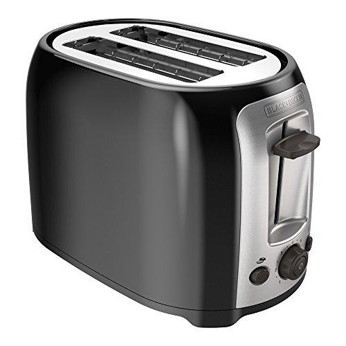 BLACK+DECKER Bagel Toaster, Black