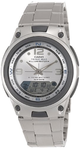 Casio Analog Digital Display Stainless