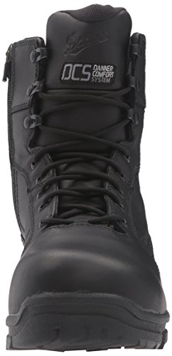 Danner Mens Lookout Ems / Csa Side-zip Nmt Military & Tactical Boot Black Non Metallic Toe