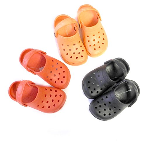 Image of DINY Home & Style Cute Toddler & Little Kids Clogs with Strap