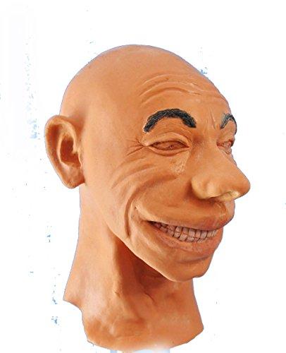 [Smiley Foam Latex Mask] (Smiley Latex Mask)