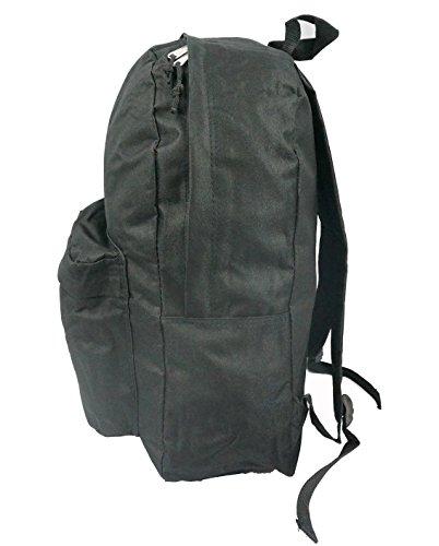 f0a04dc7314f Classic Bookbag Basic Backpack School Bookbag Student Simple Emergency  Survival Daypack