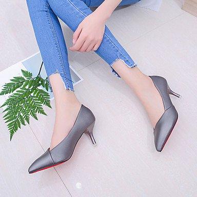 Noir ggx LvYuan Gris 7 5 à Chaussures Rose Eté blushing pink Combinaison Talon 5 cm 9 Aiguille Femme à Polyuréthane Marche Talons Pd4qWwdr