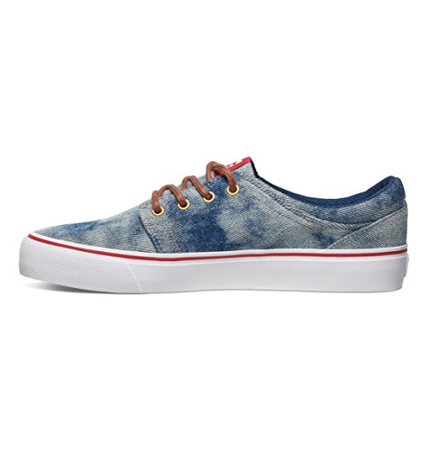 Bleu Basses DC M Shoes Sneakers TX Trase Homme qPfPSU