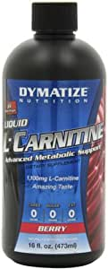 Dymatize Liquid L-Caritine Advanced Metabolic Support, Berry, 16 Ounce