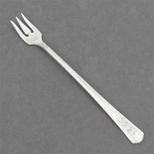 (Rosalie by William A. Rogers, Silverplate Cocktail/Seafood Fork)