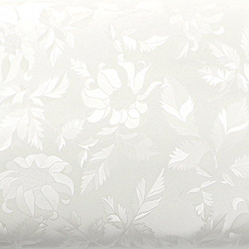 ROSEROSA Peel & Stick Backsplash Floral Butterfly Pattern Textured Vinyl Contact Paper Self-adhesive Wallpaper Shelf Liner Table and Door Reform (MG233(5200-4) : 2.00 Feet X 6.56 Feet)