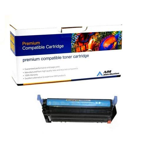 AIM Compatible Replacement for HP Color Laserjet 4700 Cyan Toner Cartridge (10000 Page Yield) (NO. 643A) (Q5951AC) - Generic