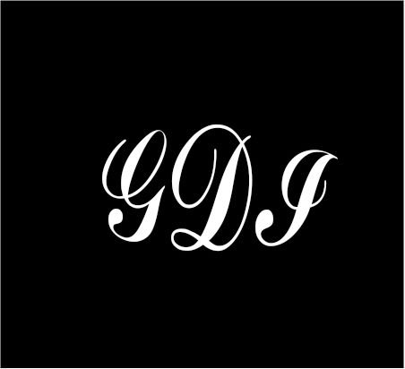 6-white-monogram-3-letters-gdi-initials-script-style-vinyl-decal-for-cup-car-computer-any-smooth-sur