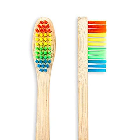 Cepillo de dientes biodegradable de bambú para niños de ...