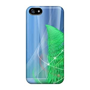 Hot YcHRFRx8301CkEjA Case Cover Protector For Iphone 5/5s- Christmas Tree