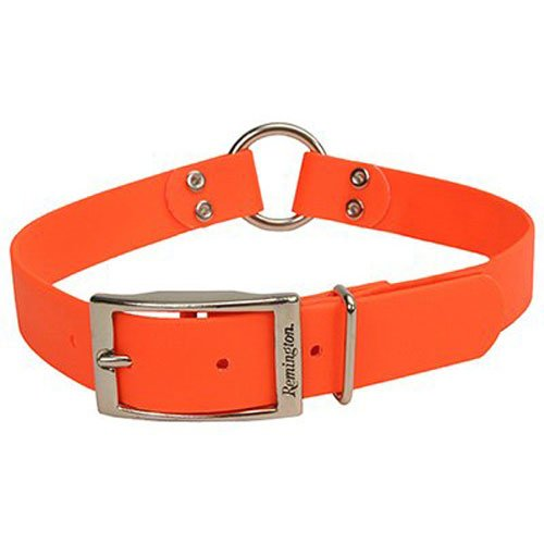 Remington Orange 1-Inch by 22-Inch Waterproof Dog - Orange Collar Dog