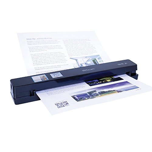 IRIScan Anywhere 5 WIFI, PC and Mac, Document Image Portable Mobile Color Scanner, Black by IRIS USA, Inc. (Image #1)