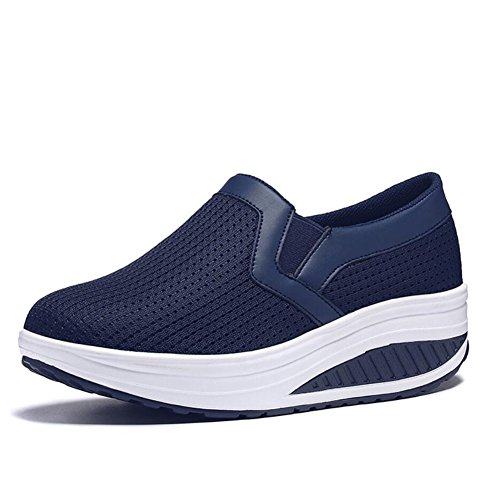 Femmes Chaussures Maille Printemps Automne Mocassins & Slip-Ons Conduite Chaussures Fitness Shake Chaussures Secouer Chaussures Secouant Chaussures Mocassins plats Sneakers Chaussures de sport Chaussu B