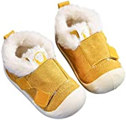 Baby Toddler Shoes Kids Snow Boot Velvet Boots Soft-soled Non-slip Plush Lining Thicken Winter Booties