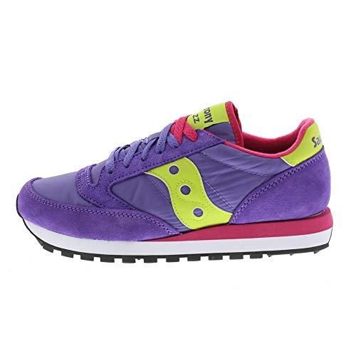 464 Saucony Jazz slime red Purple Original Sneaker Donna IIHrwRqz