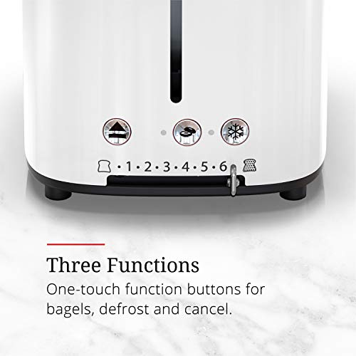 Russell Hobbs TR9150WTR Retro Style Toaster, 2-Slice, White by Russell Hobbs (Image #2)