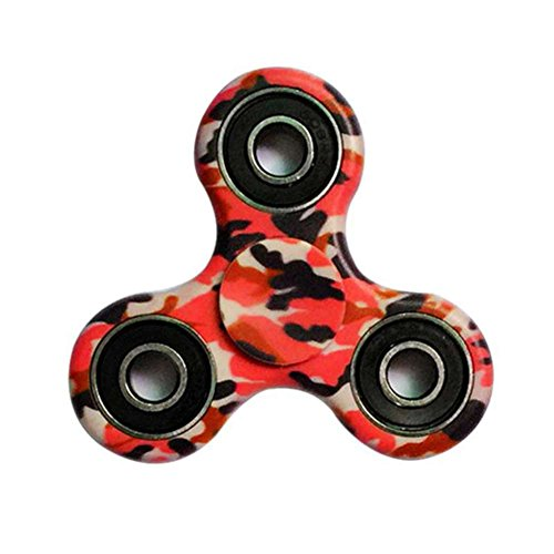 Sunrisetop Fidget Hand Spinner Toy Camouflage Carton Package Ceramic Bearing Fidget Toy Stress Reducer Hand Spinner Fidget Toy