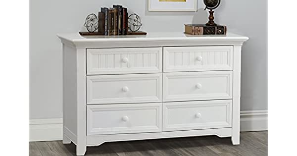 Amazon.com: Suite Bebe Winchester 6 Cajón Doble dresser ...