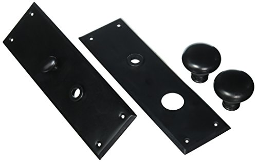 Baldwin 6552.ENTR Baltimore Single Cylinder Mortise Handleset Trim Set, Oil Rubbed Bronze