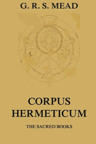 The Corpus Hermeticum pdf