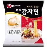 カムジャ麺(ジャガイモラーメン) 117g X5個入■韓国食品■冷麺/春雨/ラーメン■農心