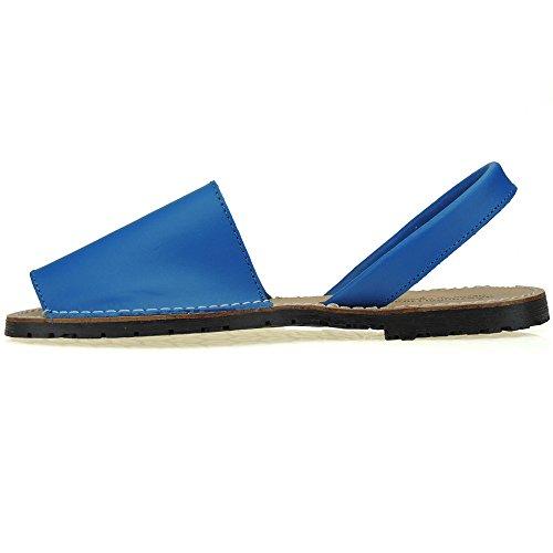 Calzados Tongs bleu Pour Femme Gros Romero qACfwqHB