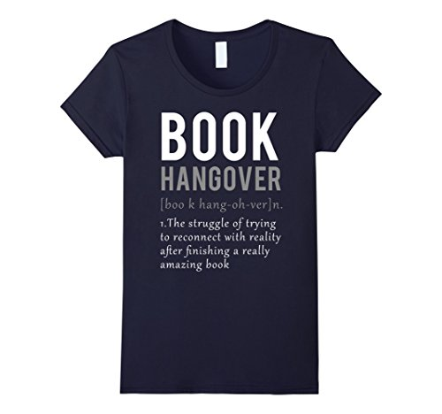 Hangover Definition Reading Lover T Shirt product image