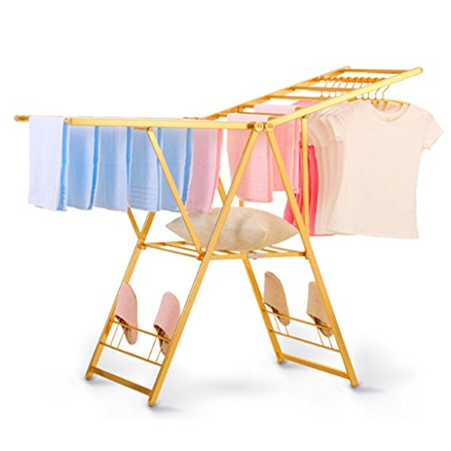 FriendShip Shop Drying racks- Folding Collapsible Clothes Dr