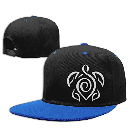 Toddler Boys Baseball Cap Tattoo Clipart Turtle-1 Cotton Hip Hop Hat Blue