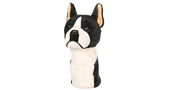 Amazon.com: Oversized Boston Terrier Golf Cabeza cover ...