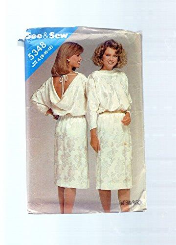 Uncut Vintage Butterick Pattern Dress - 9