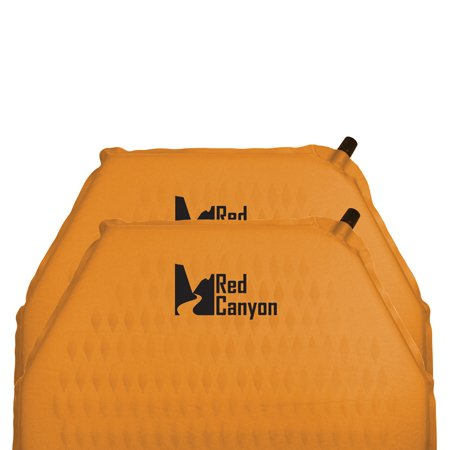 Red Canyon Die Cut Tech Sleeping Pad, Full Length, Outdoor Stuffs