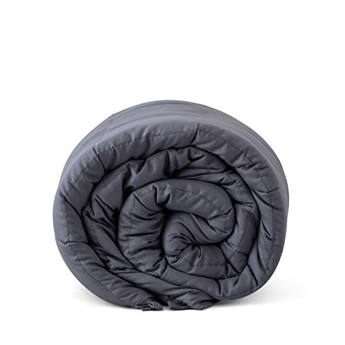 Cheap Friendship Alliance Weighted Blanket Pro (15 lbs 48 x72 Twin Size Gray) for Adults Women Men 100% Cotton with Glass Beads Premium Quality Black Friday & Cyber Monday 2019
