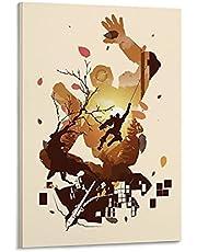 Moderne woondecoratie Revenant Apex Legends Poster Canvas Muur Kunst Moderne Stijl voor Woonkamer Slaapkamer