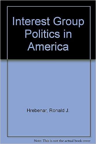 Ebook pdf / txt / mobipocket / epub hier herunterladen Interest Group Politics in America auf Deutsch MOBI by Ronald J. Hrebenar 0134692543