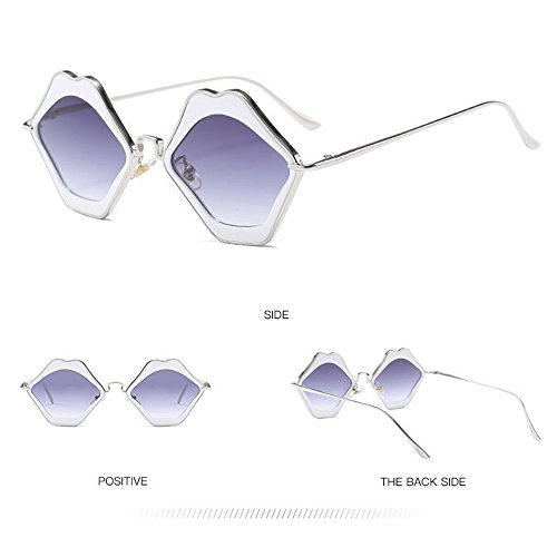 Gafas Sol Gafas Sol De Moda De Gafas De De Moda Purple Sol Silver Moda De De Gafas De Sol wq6raPwOW