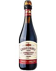 Cavicchioli Lambrusco Rosso (Red) dell'Emilia IGT Dolce Red Wine, 750 ml